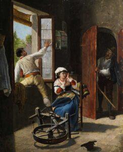 Gemälde von Achille Buzzi.