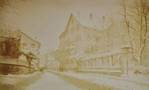 Fluntern im Jahr 1889.