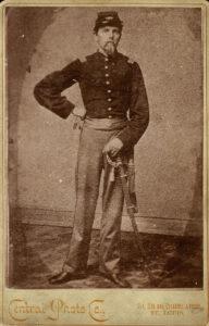 Portrait of Emil Frey, taken between 1861 and 1865.