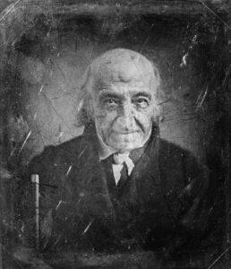 Albert Gallatin um 1848.