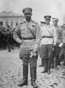 Alexander Pavlovich Kutepov, around 1919.