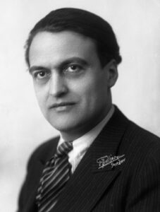 Portrait of Georges Oltramare, 1931.