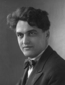 Portrait de Georges Oltramare, 1923.