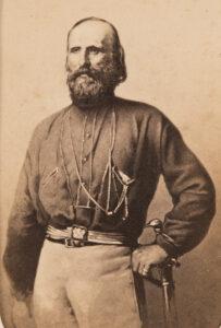 Giuseppe Garibaldi, vers 1861.