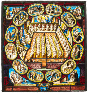 Stained-glass plate from the Ittingen Charterhouse, 1588.