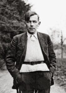 Friedrich Glauser in the psychiatric clinic in Münsingen (Canton of Bern), 1931.