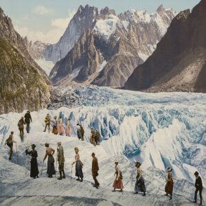 Die Bergwelt war ein beliebtes Motiv.