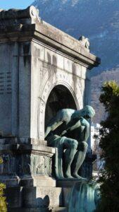 Sigg's tomb in Lugano.