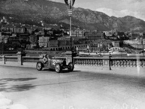 Ohne die Erfindung von Ernest Guglielminetti wohl nicht denkbar: Der Grand-Prix von Monte Carlo, im Bild die Ausgabe von 1931.