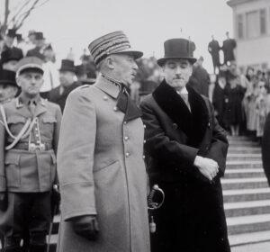 Pas les meilleurs amis du monde: Henri Guisan et Marcel Pilet-Golaz en décembre 1939.