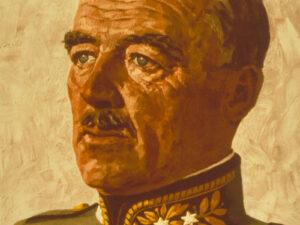 Portrait du général Guisan datant de 1939.