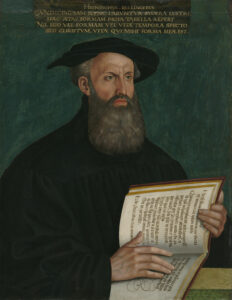 Portrait of Heinrich Bullinger, by Hans Asper, 1559.