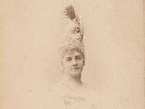Porträt von Hélène de Pourtalès, um 1878.