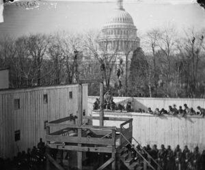 10 novembre 1865. Exécution par pendaison de Henry Wirz, à Washington D. C.
