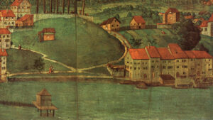 Remnant of the original version by Hans Leu the Elder (1460-1507), produced after 1497 – without the parts that were sawn off in 1524 and are no longer extant