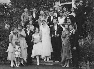 Mariage de Hilde et Andreas à Dortmund, le 12juillet 1930.