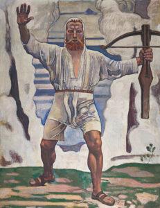 Ferdinand Hodler (1853–1918), Wilhelm Tell, 1897.