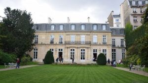 In 1767 Besenval purchased a hôtel particulier, a grand private residence, on the Rue de Grenelle in Paris