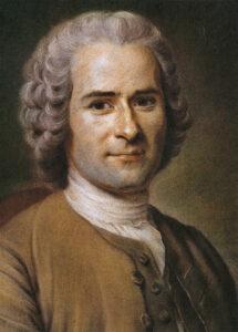 Jean-Jacques Rousseau, um 1763.
