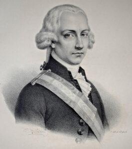 Portrait von Jean-Nicolas Pache, 1832.