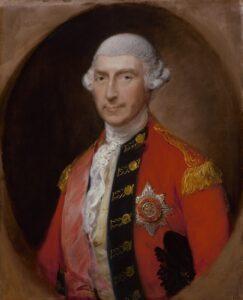 Jeffrey Amherst, vers 1780.