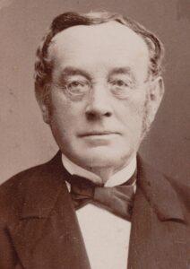 Portrait of Johann Konrad Kern, around 1850.