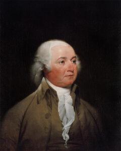 John Adams, around 1792.