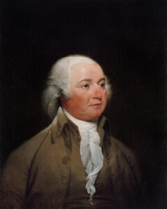 John Adams, um 1792.