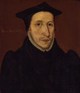 John Jewel, by unknown artist, 1560s.