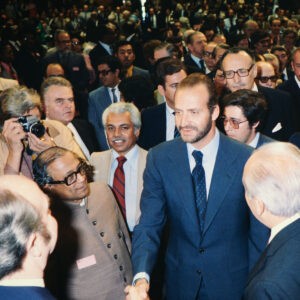 State visit of the Spanish King Juan Carlos in 1979.