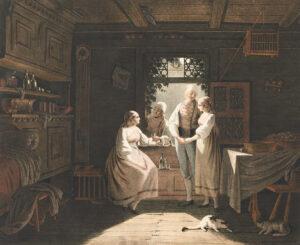 Lithographie von Franz Niklaus König.