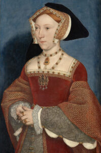 Portrait of Jane Seymour, painted by Hans Holbein the Younger, around 1536.