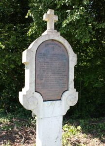 Intersection près de Riedholz, près du lieu du duel, qui rappelle de l'événement de 1659.