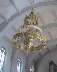 Vue intérieure de l'église St. Antonius à Rothenthurm.