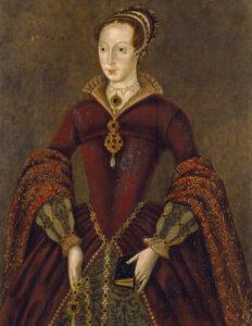 Lady Jane Grey, by unknown artist, circa 1590-1600.