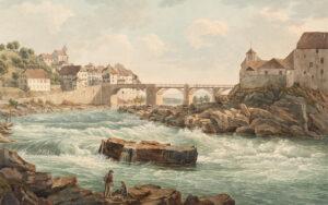 Laufenburg, vers 1820