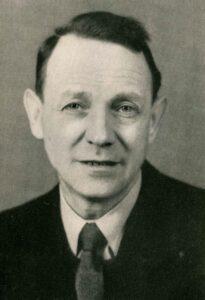 Bild von Jakob Leonhard kurz nach seiner Rückkehr in die Schweiz, 1945.