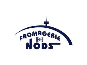 Käse mit Milch aus der Chasseral-Region. Auch die Käserei Nods benutzt den Sendeturm im Logo.