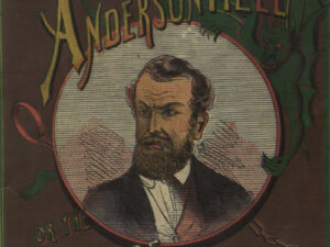 Magazine avec le portrait de Wirz et le titre «The Demon of Andersonville» (extrait).