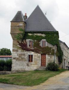 Das Haus von Jean-Nicolas Pache in Thin-le-Moutier, 2011.