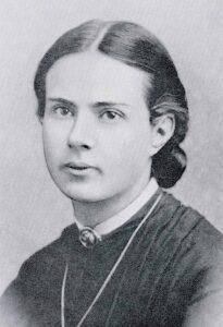 Porträt von Marie Heim-Vögtlin.