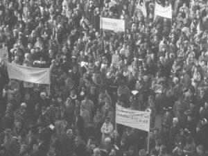 Der Marsch auf Bern am 1. März 1969.