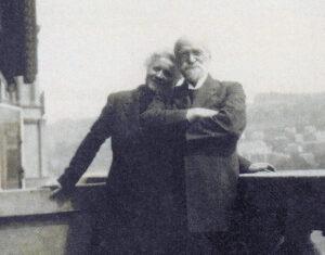 Mary et Auguste Widmer-Curtat.