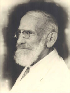 Porträt von Maximilian Bircher-Benner (1867-1939).