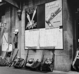 Generalmobilmachung 1939 in Lausanne.