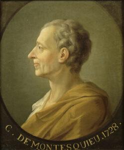 Charles de Secondat, Baron de Montesquieu, 1728.