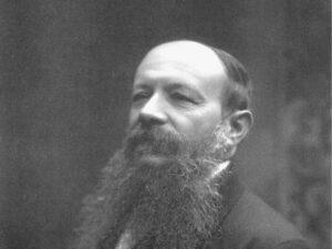 Mosè Bertoni um 1900.