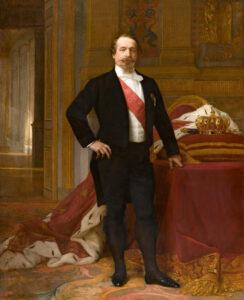 Napoléon III dans un tableau d'Alexandre Cabanel, vers 1865.