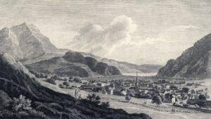 Nicolas Pérignon (1726–1782), Stans von der Bluematt aus