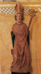 Nicholas, statue in the chapel of St Niklausen near Kerns (Canton of Obwalden), around 1350/1375